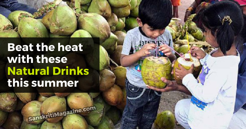Beat the heat with these natural drinks this summer