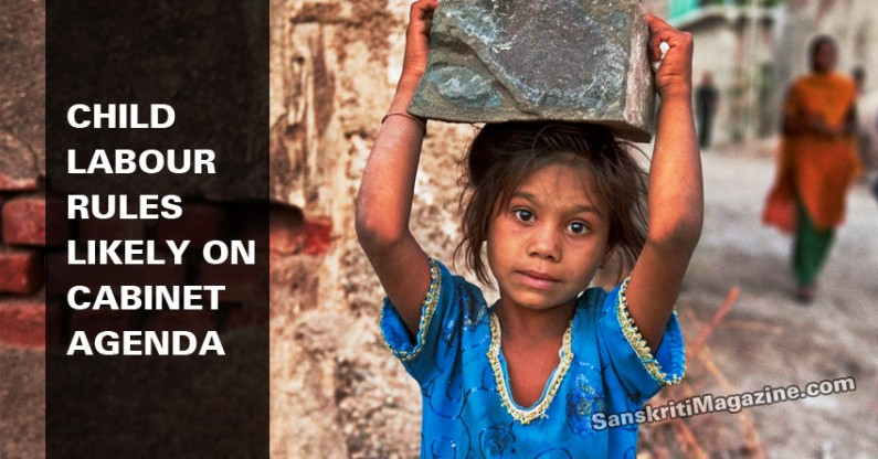 Child labour rules likely on Cabinet agenda