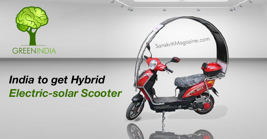 ETI Dynamics testing electric-solar hybrid scooter in India