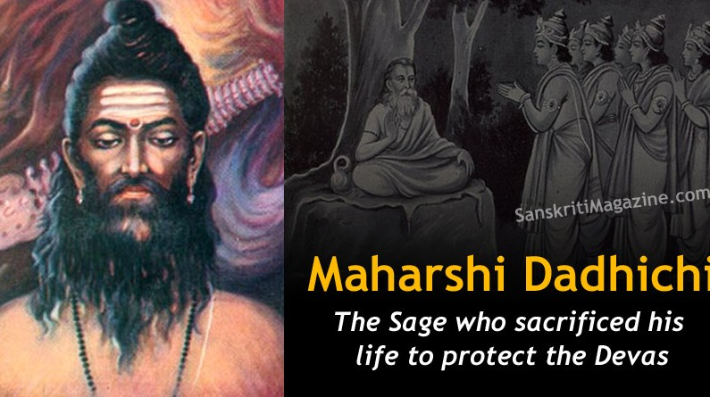 Dadhichi: The Sage who sacrificed his life to protect the Devas