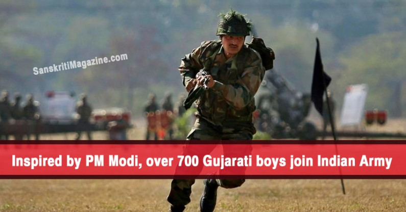 Over 700 Gujarati boys join Indian Army, many inspired by PM Modi