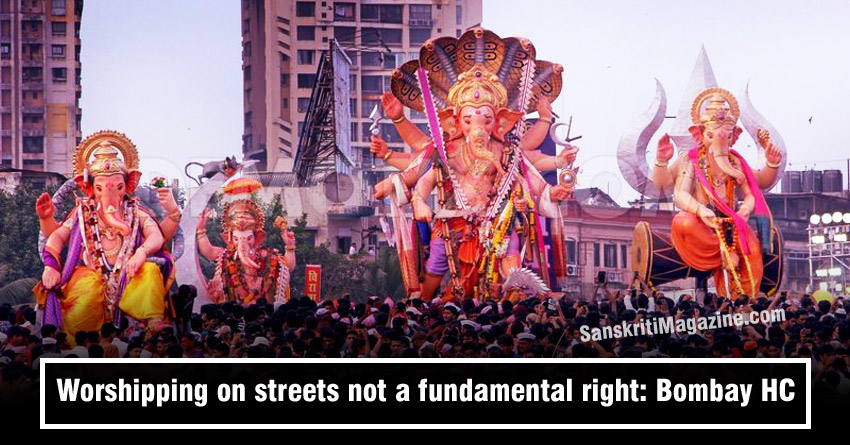 Worshipping on streets not a fundamental right: Bombay HC