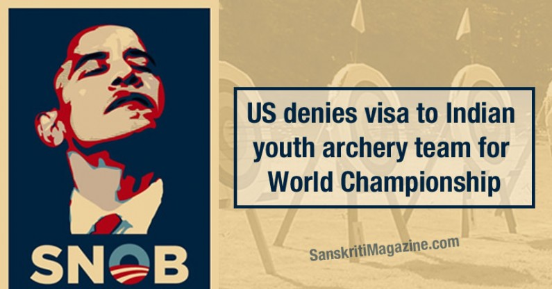 US denies visa to Indian youth archery team for World Championship