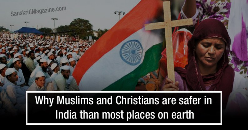 Why Muslims and Christians are safer in India than most places on earth