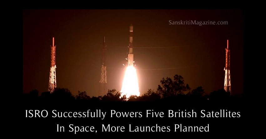ISRO Successfully Powers Five British Satellites In Space, More Launches Planned