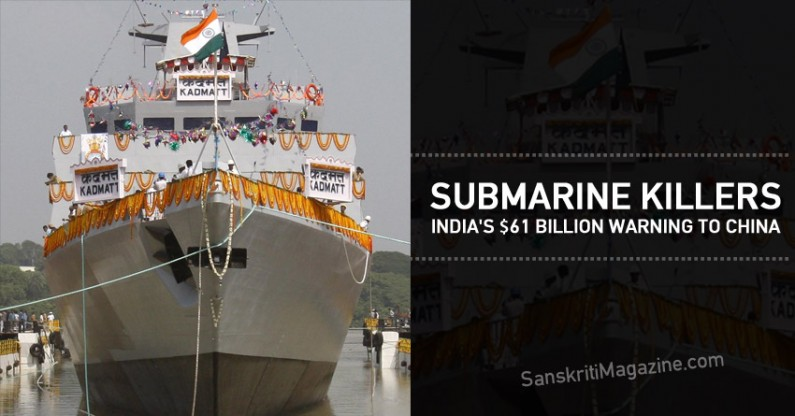 Submarine Killers: India's $61 Billion Warning to China
