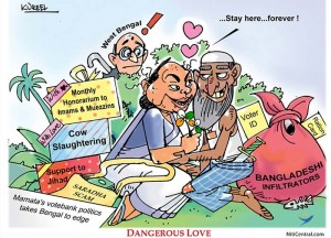 Mamta Banerjee and Islamists