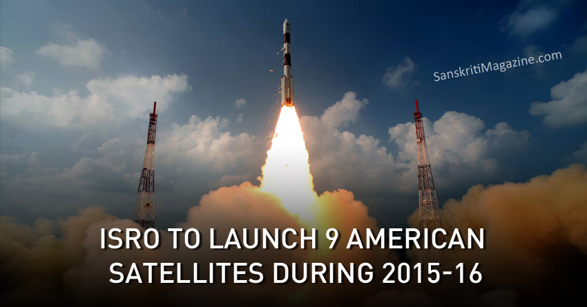 ISRO to launch 9 American satellites