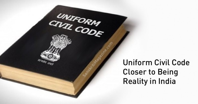 Indian Uniform Civil Code Closer to Being Reality
