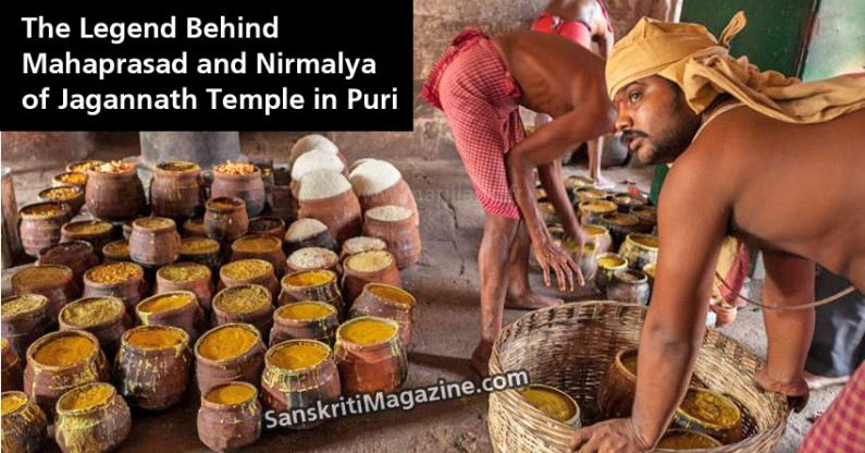 The Legend Behind Mahaprasad and Nirmalya of Jagannath Temple in Puri
