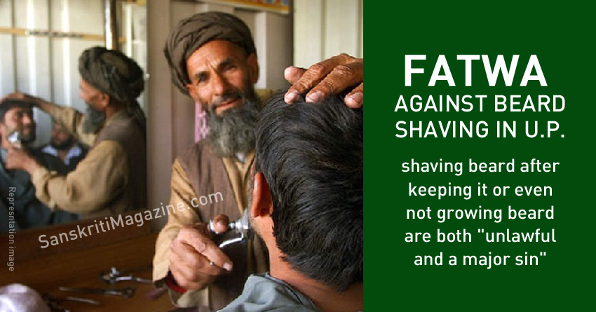 Fatwa against shaving leaves barbers jobless