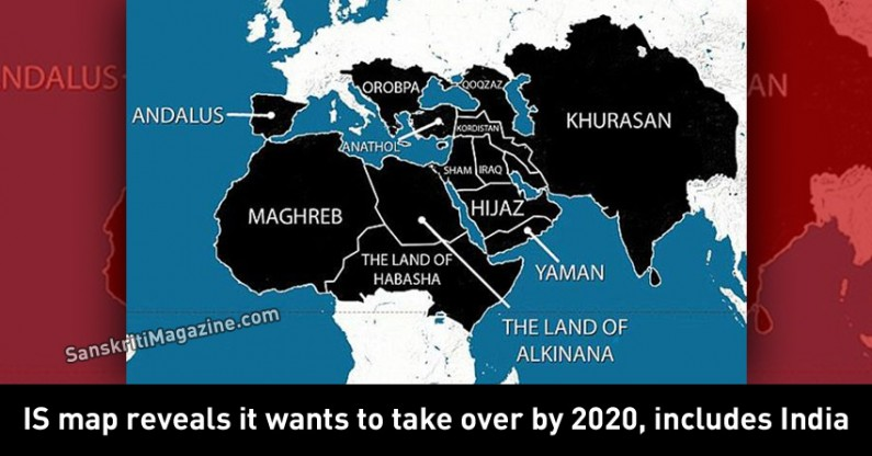 Islamic State map reveals it wants to take over by 2020, includes India