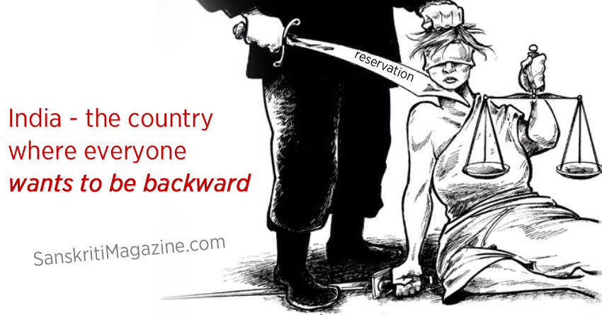 India: The country where everyone wants to be backward