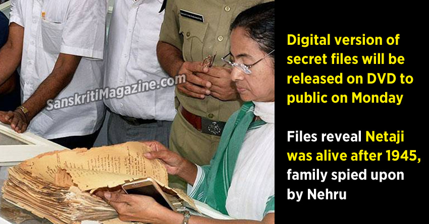 Files reveal Netaji was alive after 1945, family spied upon