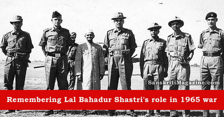 Remembering Lal Bahadur Shastri's role in 1965 war