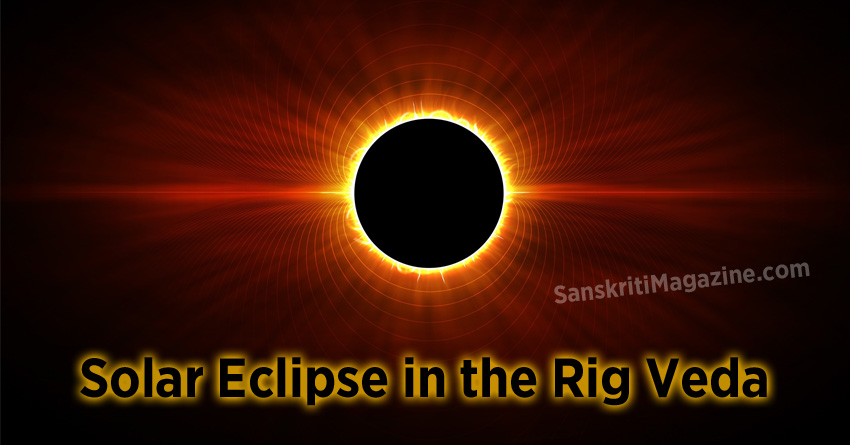 Solar Eclipse in the Rig Veda