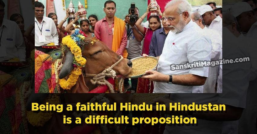 being hindu in hindustan