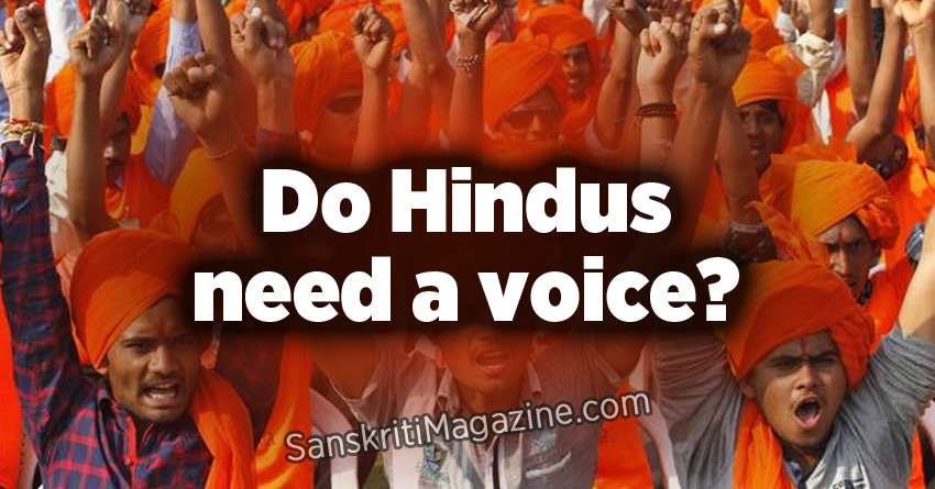 Do Hindus need a voice?