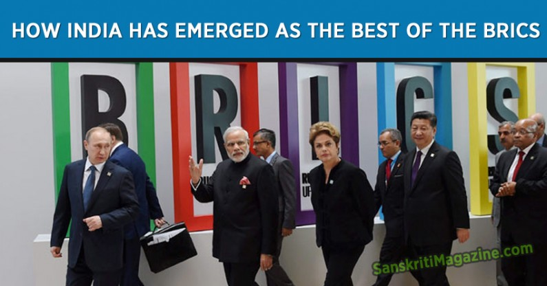How India has emerged as the best of the BRICS