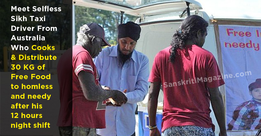 sikh taxi driver in australia