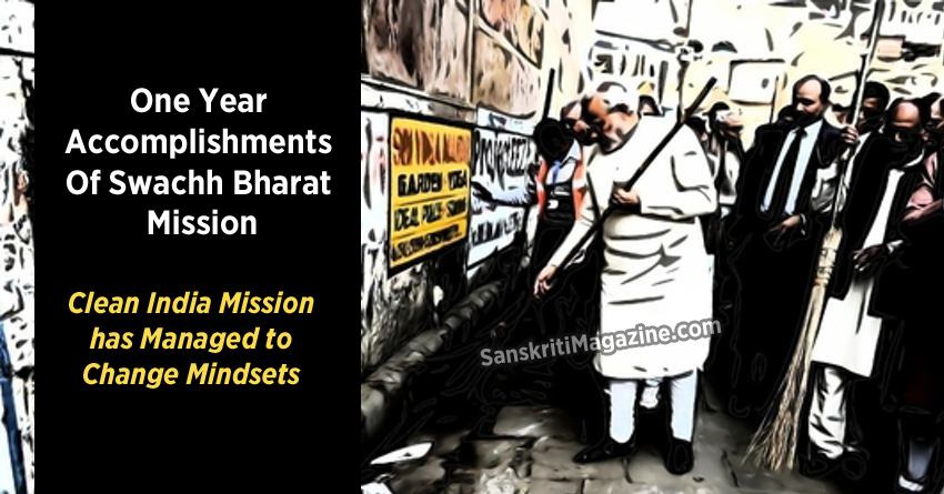 Clean India Mission has Managed to Change Mindsets
