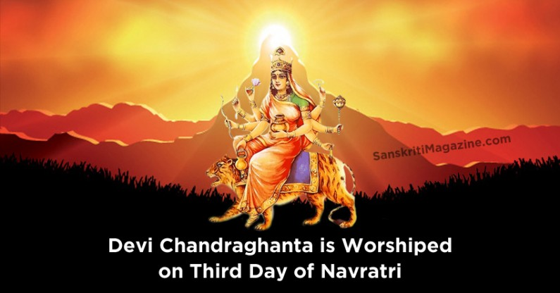 Devi Chandraghanta: the third form of Mother Durga