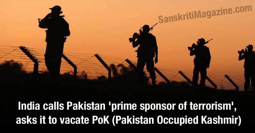 pakistan prime terrorist sponsor