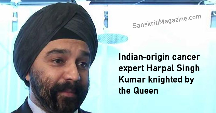 Indian-origin cancer expert Harpal Singh Kumar knighted by the Queen