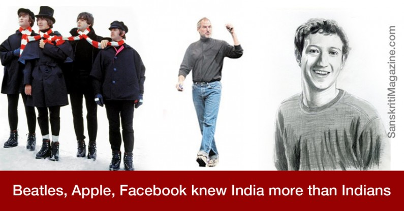 Beatles, Apple, Facebook knew India more than Indians