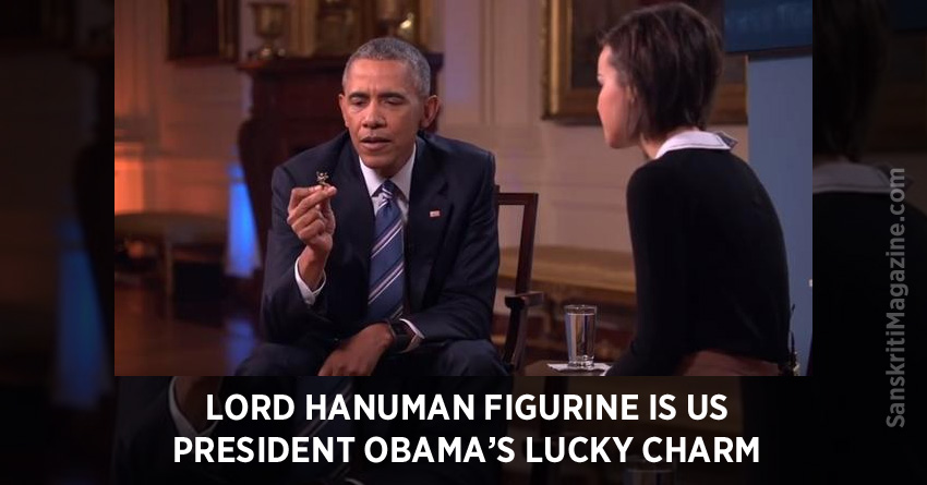 Lord Hanuman figurine is US President Obama's lucky charm