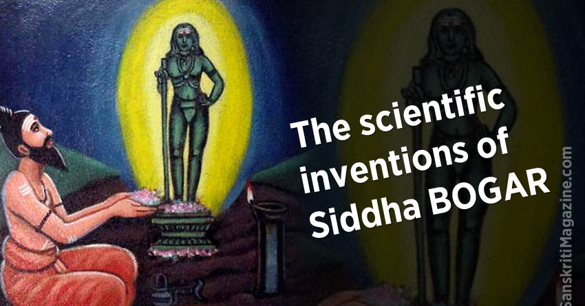 The scientific inventions of Siddha BOGAR