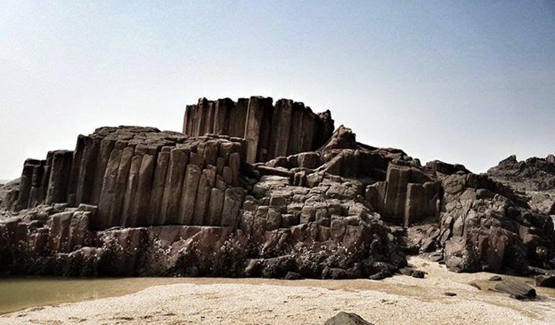 Basalt rocks