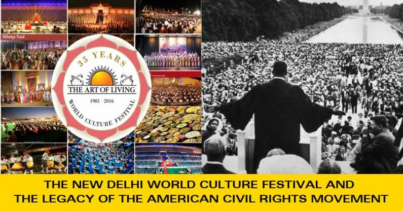 The New Delhi World Culture Festival and the Legacy of the American Civil Rights Movement