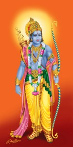 Digital-art-of-Lord-Rama-by-Satish-Verma