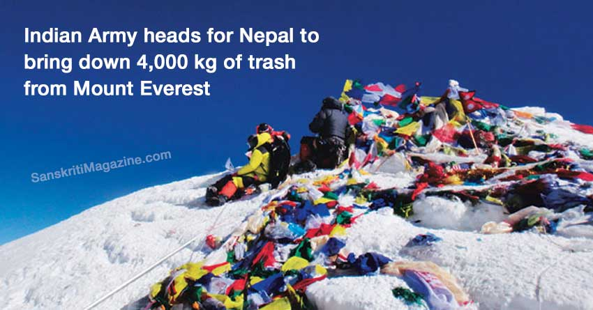 Indian-Army-heads-for-Nepal-to-bring-down-4,000-kg-of-trash