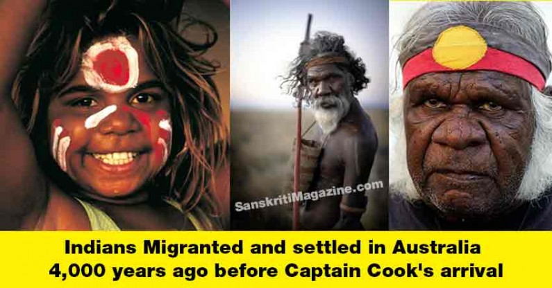 Migrants from India settled in Australia 4,000 years ago