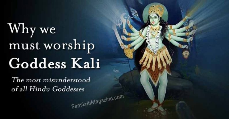 The reason why we must worship Goddess Kali