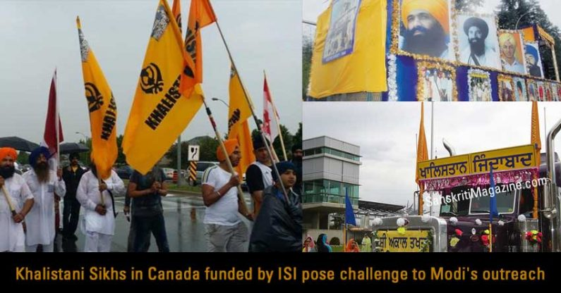Khalistani Sikhs in Canada funded by ISI pose challenge to Modi's outreach