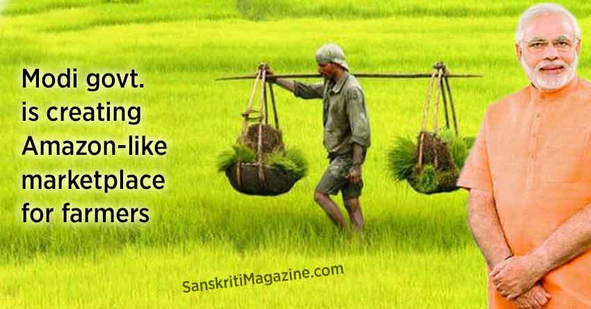 Modi-government-is-creating-Amazon-like-marketplace-for-farmers