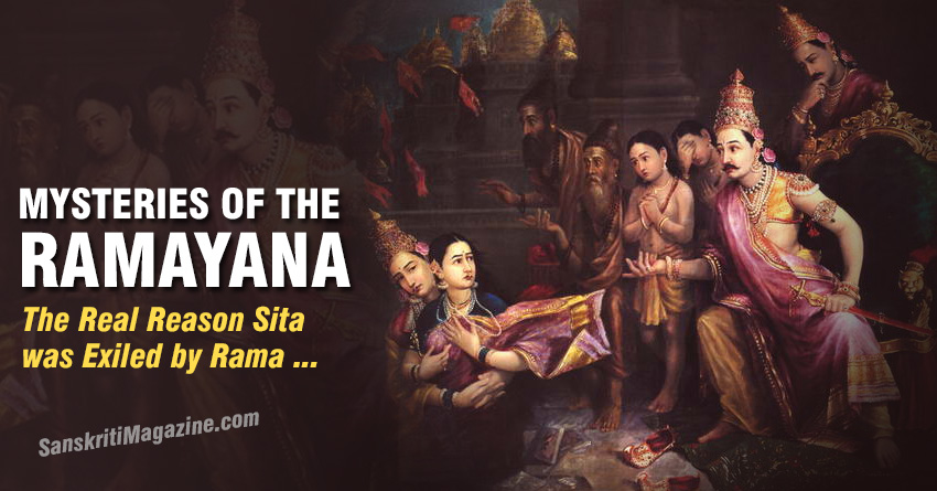 The Real Reason Sita was Exiled by Rama