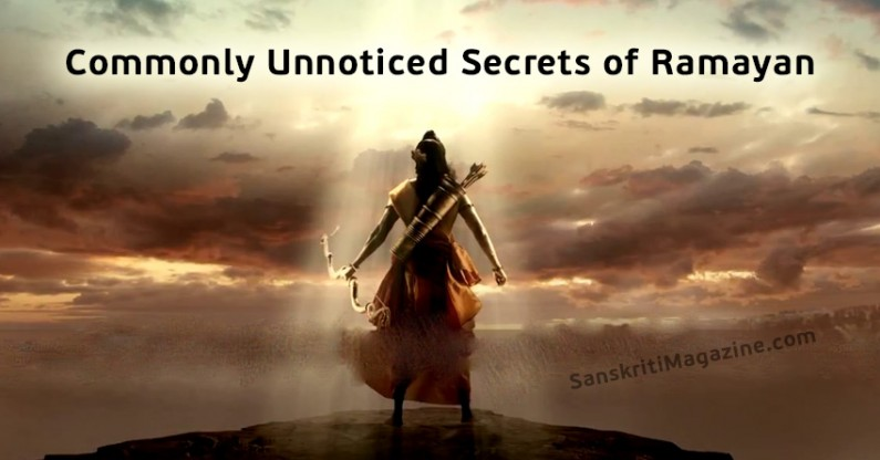 Unnoticed secrets of Ramayan