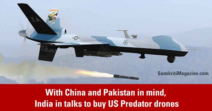With-eye-on-China-and-Pakistan,-India-in-talks-to-buy-US-Predator-drones