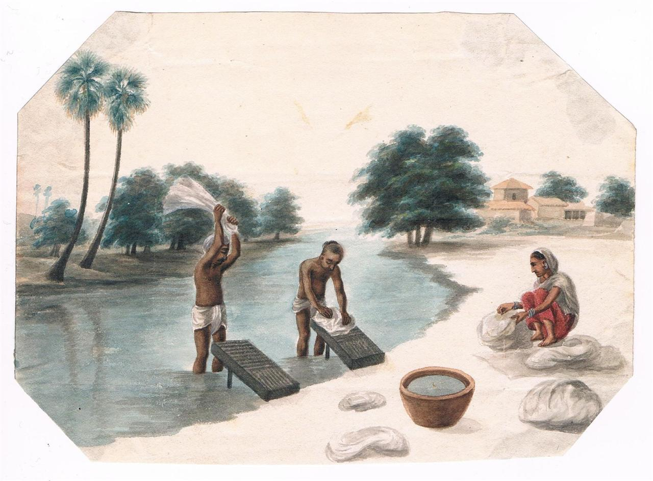 A Company School watercolor, Patna, c.1820's