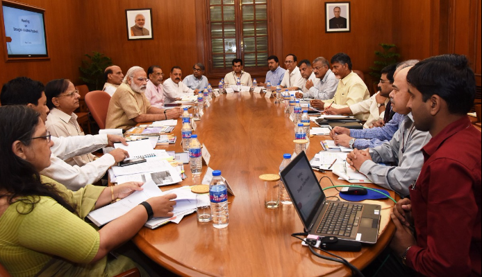 PM Modi and Agriculture Farmers Welfare Minister meetings with Chief Ministers of 10 drought affected States and decisions taken in subsequent meetings.