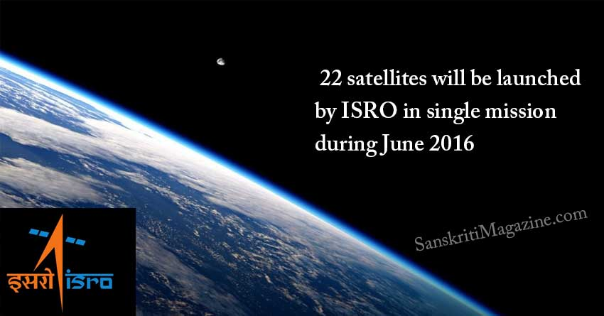22-satellites-will-be-launched-by-ISRO-in-one-mission-during-June-2016