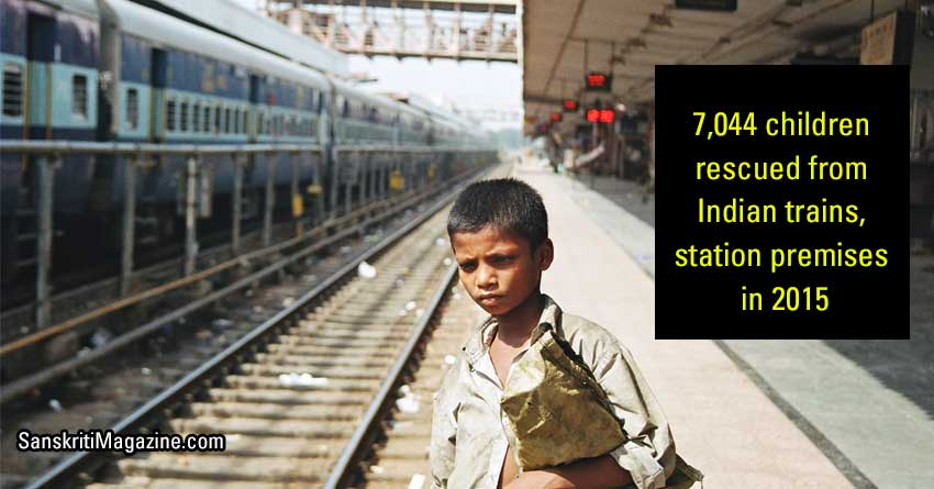 7,044-kids-rescued-from-Indian-trains,-station-premises-in-2015