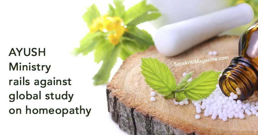 AYUSH-Ministry-rails-against-global-study-on-homeopathy