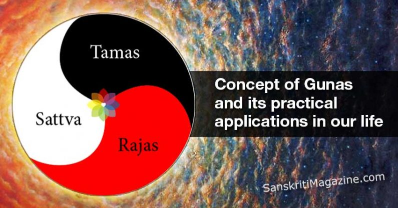 Concept of Gunas and its practical applications in our life