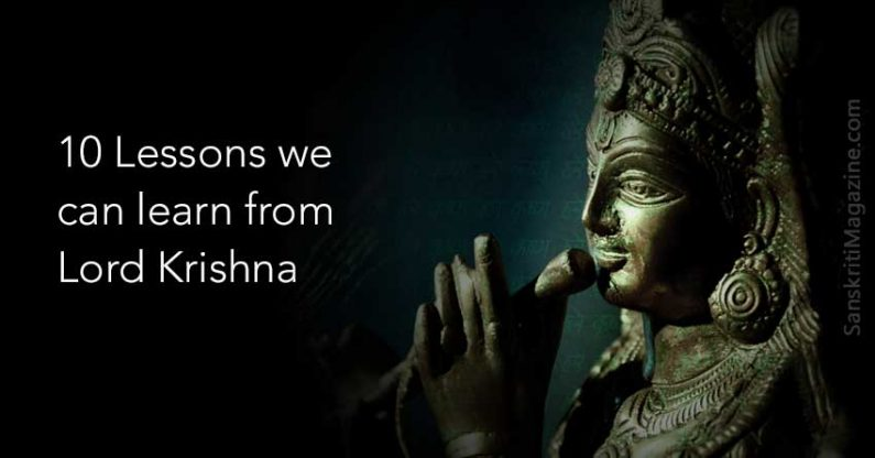 10 Lessons we can learn from Lord Krishna
