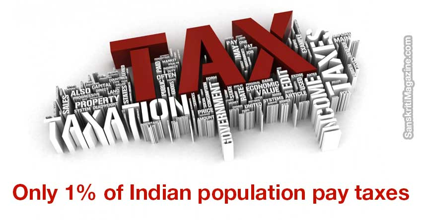 Only-1%-of-Indian-population-pay-taxes,-reveals-government-data